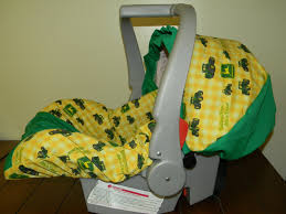 Carseat Canopy For Boy by Tractor Baby Bedding John Deere Tractor Fabric Infant Car Seat