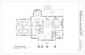 Scale Floor Plan by Floor Plans High Peaks House