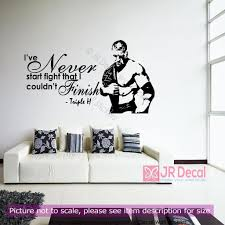 triple h wall stickers wwe champion wrestling quotes wall decals