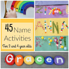 45 awesome name activities for preschoolers how wee learn