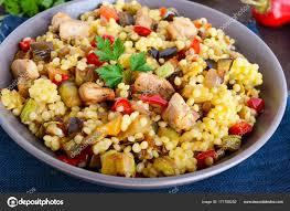 cuisine legere et dietetique salade diététique saine légère avec le couscous les légumes