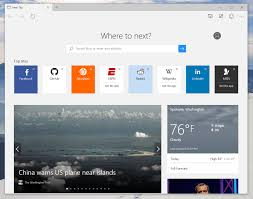how to customize microsoft edge u0027s new tab page in windows 10 tip