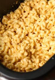 no boil crock pot slow cooker mac and cheese recipe crock pot