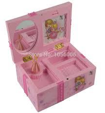 children s jewelry box girl box childrens musical jewellery box rectangle girl