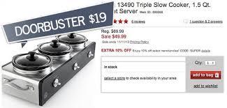 black friday slow cooker top 20 black friday deals at macy u0027s keurig under 100 5 sheet