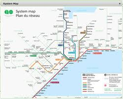 Map Canada by Go Train Map Toronto Go System Map Canada