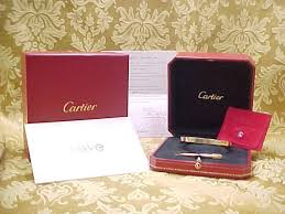 love cartier bracelet ebay images Exquisite cartier 18k yellow gold love bracelet circa 1980 39 s jpg