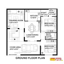 house plan for 39 feet by 36 feet plot plot size 156 square yards