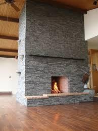 complete double sided fireplace restoration renaissance chimney inc
