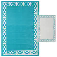 Turquoise Rug 5x7 Aqua Outdoor Woven Area Rug 5x7 At Home At Home