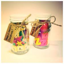 Decorated Jars For Christmas Mini Christmas Craft Jar Gifts For Kids