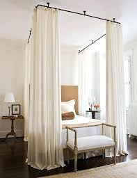 bedroom canopies curtains for canopy bed frame brescullark com
