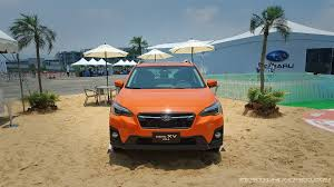 subaru crosstrek 2018 colors all new 2018 subaru xv now in malaysia first impressions