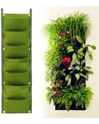 incredible deal on 7 pockets planting bags garden vertical
