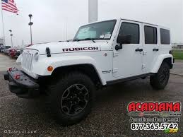jeep rubicon white 2016 bright white jeep wrangler unlimited rubicon hard rock 4x4