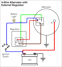 wiring diagrams car alternator wiring diagram delco alternator