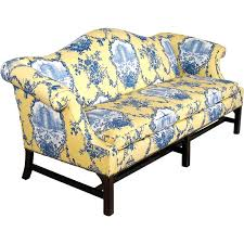 New Upholstery For Sofa Chippendale Style Camelback Sofa New Upholstery Down Wrap
