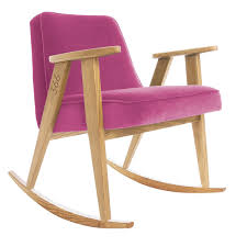 Easychair Design Ideas Velvet Rocking Easy Chair By Concept S C Design Idolza