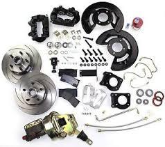 1966 mustang disc brakes 1964 1965 1966 mustang front disc brake conversion kit power