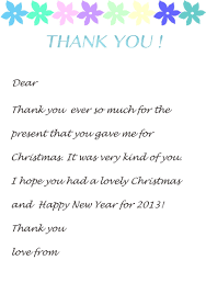 thank you letter notes christmas fun holiday parties write