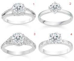 types of wedding ring engagement rings and wedding rings