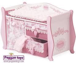 Baby Doll Changing Table Baby Doll Changing Table Wood Decuevas Juguetes Puppen Toys