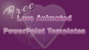 free love animated powerpoint templates youtube