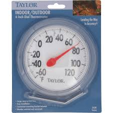 Patio Clock And Thermometer Sets by Taylor 6