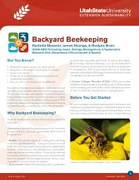 backyard beekeeping pdf download available