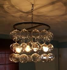 mercury glass ball lights glass ball chandeliers google search van pinterest chandeliers
