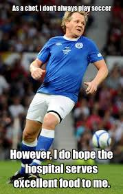 Soccer Player Meme - playing soccer gordon ramsay know your meme