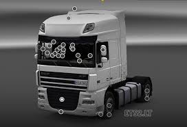 Daf Xf Super Space Cab Interior Daf Xf 510 Interior Addons Ets 2 Mods