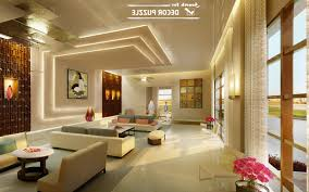 pop design for roof of living room home combo