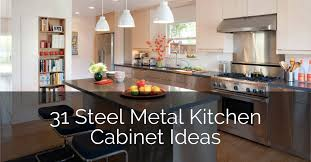 outside corner kitchen cabinet ideas 31 steel metal kitchen cabinet ideas sebring design build