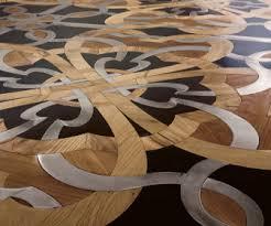 parchettificio presents unique wood floor mosaic designcurial