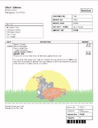 free lawn care invoice template  free business template with gallery of free lawn care invoice template from lechuangcom