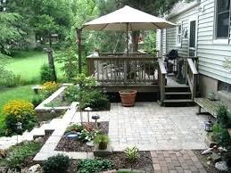 Designer Patio Landscape Deck Patio Designer Deck And Patio Ideas Pool House