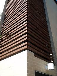 south facade wood slats salt water