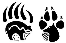bear paw native american bear clip art cbra 2 wikiclipart