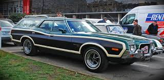green ford station wagon ford gran torino station wagon u00271972 u0027 paris youtube