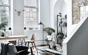 ikea living room ls a living room and dining area with white walls ideas ikea an open