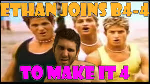 Boy Band Meme - ethan gets down with 90s boy band youtube