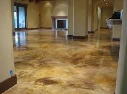 Concrete Floor Ideas Indoors Best 25 Acid Etching Concrete Ideas On Pinterest Stained