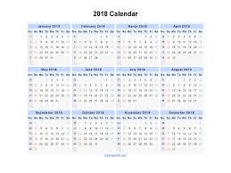 Kalender 2018 Free 2018 Calendar Printable Templates Calendar Office