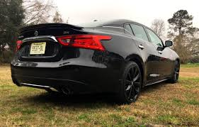 nissan maxima boot space 2017 nissan maxima sr midnight edition hd road test review