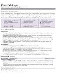 Hr Manager Resume Summary Hr Resume Sample Senior Corporate Hr Resume Example Sample Resume