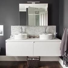 Makeover Glamorous grey bathroom