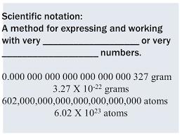 working with scientific notation scientific notation convert to scientific notation