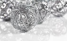silver christmas christmas decorations silver decoration image idea