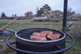 Cowboy Firepit Pit Cowboy Cooking In Wyoming Breeo